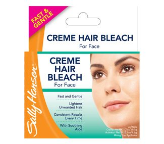 Creme Hair Bleach For Face By Sally Hansen Hair Bleach
