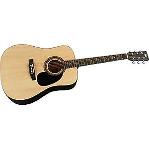 Rogue RA-090 Parlor Acoustic Guitar Regular Mahogany by Rogue