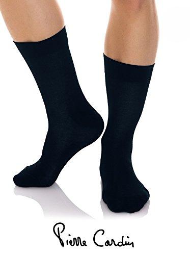 Pack 5 paia di calze corte PIERRE CARDIN in cotone calzini uomo ass. francese vari colori PC MASSIMO (39-42)