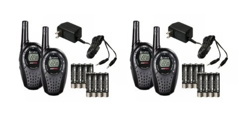 2 Pair COBRA CXT225 GMRS/FRS 2-Way Radio Walkie Talkies