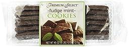 Premium Select Chocolate Fudge Mint Cookies in Decorative Box (2 Pounds 13 Ounces)