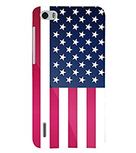 PRINTSHOPPII FLAG Back Case Cover for Huawei Honor 6