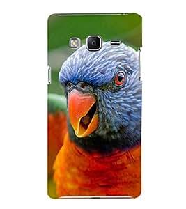 EPICCASE terrific parrot Mobile Back Case Cover For Samsung Tizen Z3 (Designer Case)