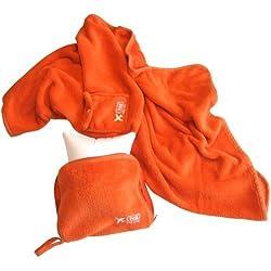 Lug Nap Sac Blanket and Pillow Marigold Yellow