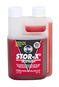 CRC Industries 402815 Stor-X Fuel Stabilizer - 8 oz.