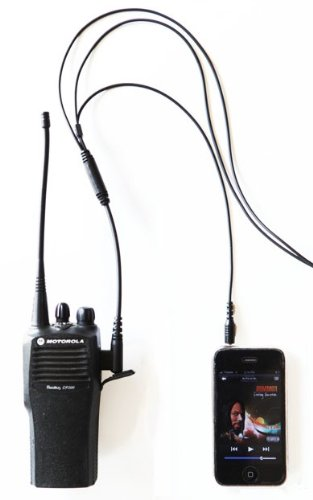 2 WIRE SURVEILLANCE KIT MIC W MP3 iPhone Android AUDIO OPTION 3 5mm ...
