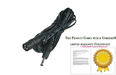 UpBright® 6' Feet 1.8m Extension Power Cord For PowerQuest Edge Edge Upright Exercise Bike 482U Fitness Equipmnt