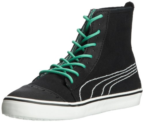 Puma Kamila Mid Gingham Wn's High Top Womens Black Schwarz (black-mint leaf 01) Size: 8.5 (42.5 EU)