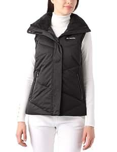Columbia Sportswear Women's Lay 'D' Down Vest, Black, X-Small
