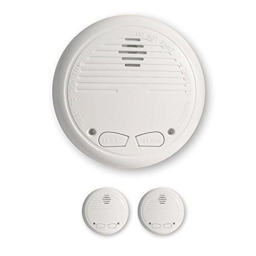 2 Nemaxx WL2 Funkrauchmelder Rauchmelder Brandmelder Set Funk koppelbar vernetzt - nach EN 14604