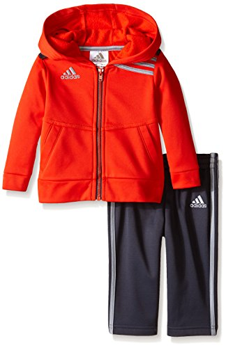 Adidas Baby-Boys On The Ball Set, Mercury Grey, 24 Months