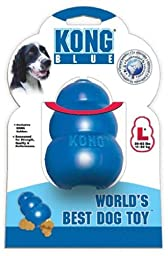 KONG Chew Toy, Large, Blue
