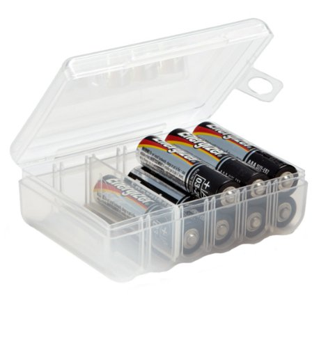Dial Storage Battery Box, AA Battery and AAA Battery Combo pack plus free Digibatt brush for cleaning (Dial Aaa Battery Storage Box compare prices)