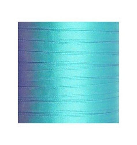 Ruban satin turquoise 6 mm