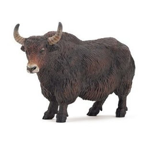 Papo Standing Himalayan Yak Toy Figure