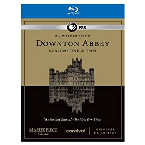 Downton Abbey Seasons 1 & 2 Limited Edition Set – Original UK Version Set [Blu-ray] $25.99