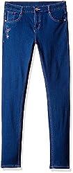 Cherokee Girls' Jeans (266104704_Blue-Ss_13Y)