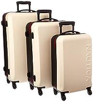 Nautica Ahoy 3 Piece Hardside Spinner Luggage Set (28