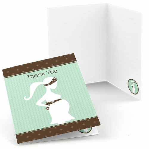 Baby Picture Thank You Cards front-1023465