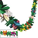 Tissue Flower Garland