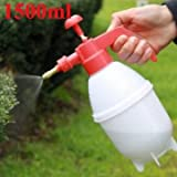 1500ml Portable Pressure Watering Can Garden Plant PE Spray Bottle