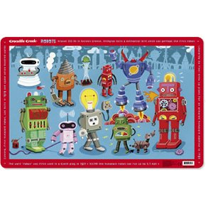 Crocodile Creek Robots Placemat - 1