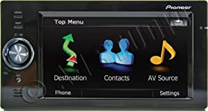 Pioneer AVIC-F500BT 5.8-Inch Bluetooth Portable GPS Navigator