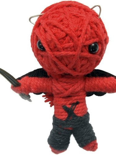 Voodoo String Doll Charm, The Devil