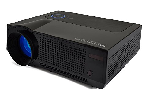 HD Projector- Black , With Warranty, Ultra-Bright LED , Without Kit : FAVI 4T Ultra-Bright LED LCD (HD 720p) Home Theater Projector - US Version (Includes Warranty) - Black (RIOHDLED4T-US6)