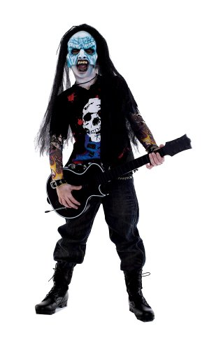 Paper Magic Group Zombie Icons Rocker Costume