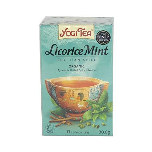 Yogi Tea - Licorice Mint Egyptian Spice - 30.6G (Case Of 6)