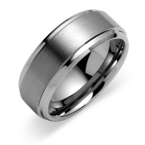 Charming Mens Titanium Wedding Bands
