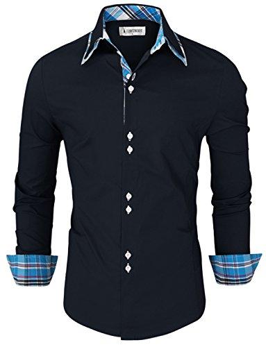 toms-ware-camisa-slim-fit-interior-a-cuadros-con-botones-hombres-twnms323s-navy-us-xxl
