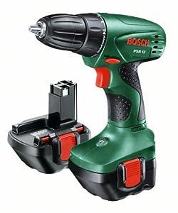 Bosch PSR 12 HomeSeries Akkubohrschrauber + 2 Akku + 51teilig Zubehörset  BaumarktKundenbewertung und weitere Informationen