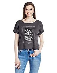 Roxy Women's Body Blouse Top (ERJZT03477-KRY0_Black_Large)