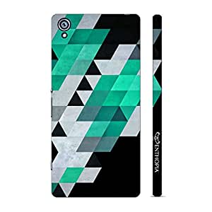 Enthopia Designer Hardshell Case Abstract Art 8 Back Cover for Sony Xperia Z4