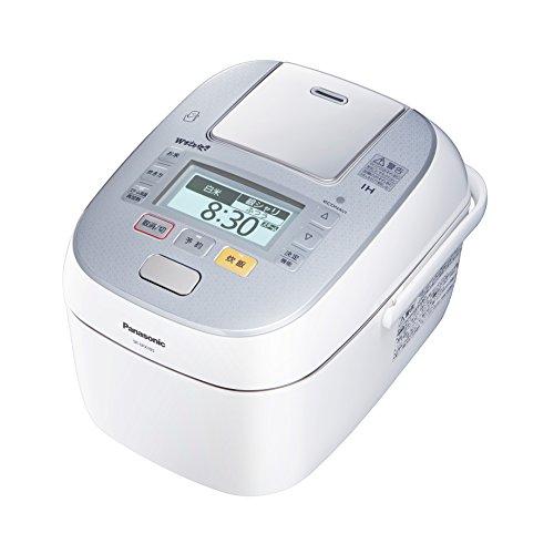 パナソニック 5.5合 炊飯器 圧力IH式 Wおどり炊き スノークリスタルホワイト SR-SPX105-W