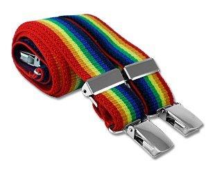 Childrens Rainbow Stripe Braces