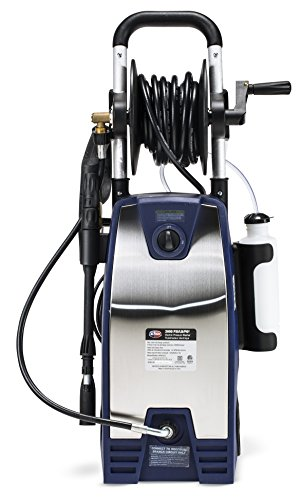 All Power 2000 PSI Electric Stainless Steel Pressure Washer with Hose Reel (All Power America Pressure Washer compare prices)