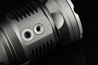 JetBeam DDR-30 CREE XML Digital Display LED Flashlight, Grey from Light Junction