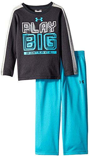 Under Armour Little Boys' Play Big Set Todd, Anthracite, 2T