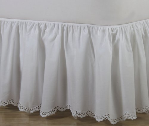 Bed Skirt 20 Inch Drop front-1027080