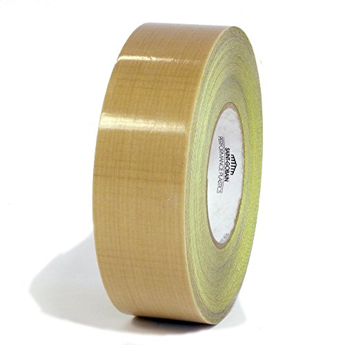 Saint-Gobain-SG15-05R-Professional-Industrial-High-Temperature-PTFE-Fiberglass-Fabric-Tape-with-Liner-1-12-Inch-X-36-Yards-4-Rolls-per-Case