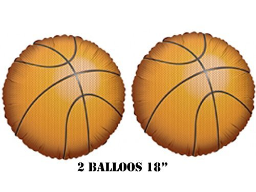 "Basketball Balloons 18"" (2 Balloons) - 1"