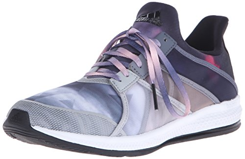 Adidas Performance Women's Gymbreaker Bounce Training Shoe,Black/Black/Pink,8 M US