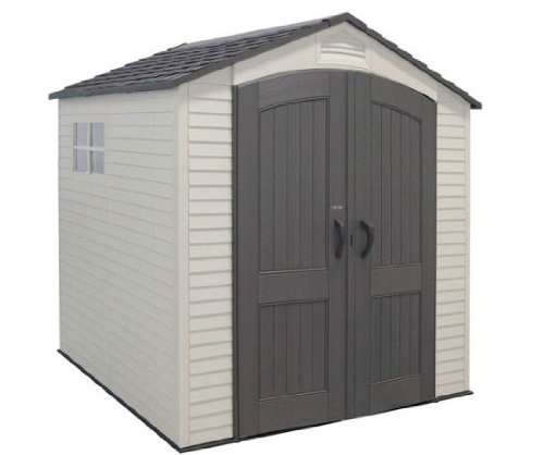 Pevensey Heavy Duty Plastic Garden Storage Shed - 7ft x 7ft