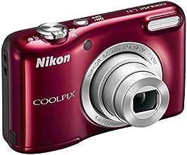 """Nikon Coolpix L31 Fotocamera compatta digitale, 16 Megapixel, Zoom 5X, ISO 1600, display da 3"""", colore: rosso [Nital card: 4 anni di garanzia]"""