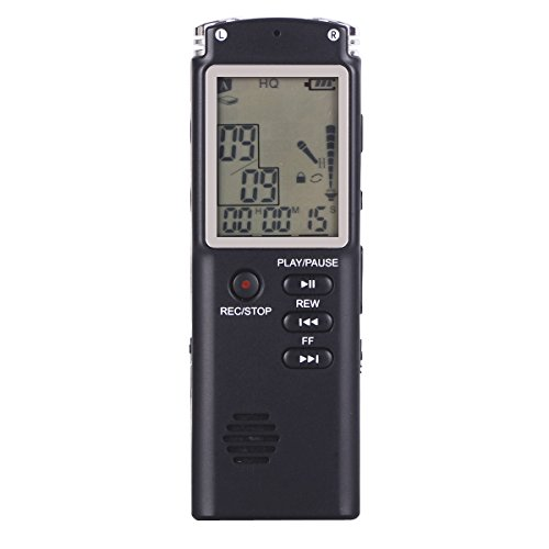 RG Multifunctional Digital Voice Recorder Pen MP3/MP4 Music Player with 8GB Built-in Memory