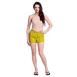 Today Fashion Solid Women's Basic Shorts