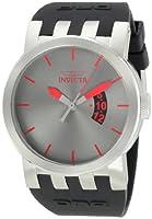Invicta Men's 10402BBB DNA Urban Gunmetal Dial Black Silicone Watch by Invicta